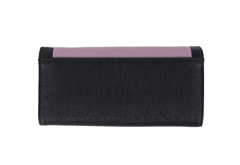 f0fe24bc22261 Vuch - Czarny portfel damski ze skóry ekologicznej VIVIENNE